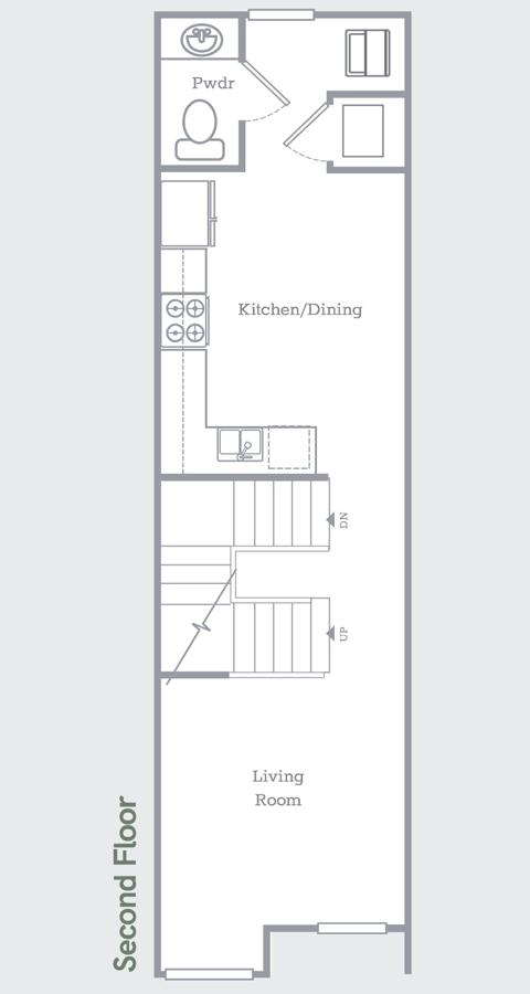 Sego Homes Manhattan Roof Deck Second Level | Daybreak Utah