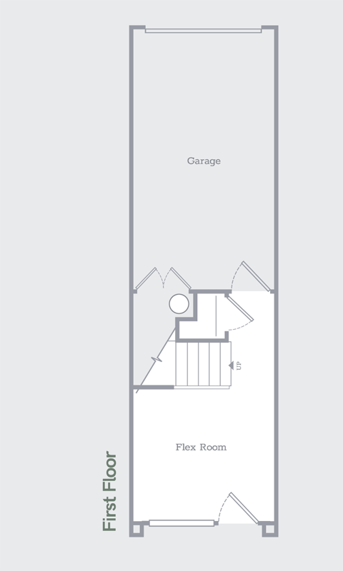 Sego Homes Manhattan Roof Deck Main Level | Daybreak Utah