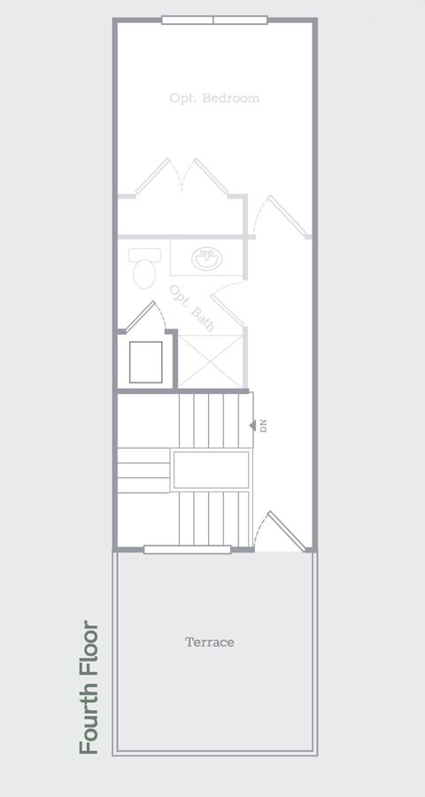 Sego Homes Manhattan Roof Deck Roof Top | Daybreak Utah