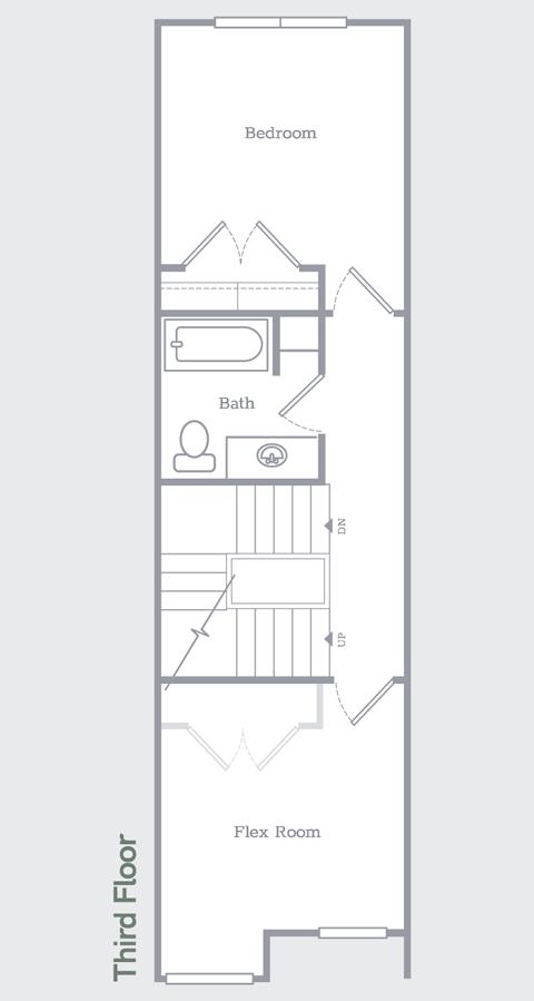 Sego Homes Manhattan Roof Deck Third Level | Daybreak Utah
