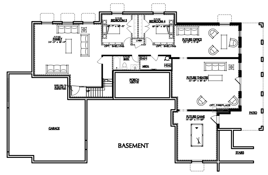 Holmes Homes Charleston Basement | Daybreak Utah