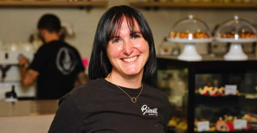 Erin Mead, Barista for Biscotts Bakery & Cafe | Daybreak Utah New Homes