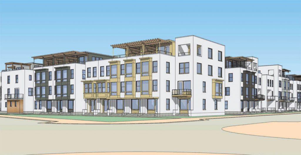 urban series rendering, sego homes, downtown daybreak, condominiums and townhomes for sale | daybreak utah homes