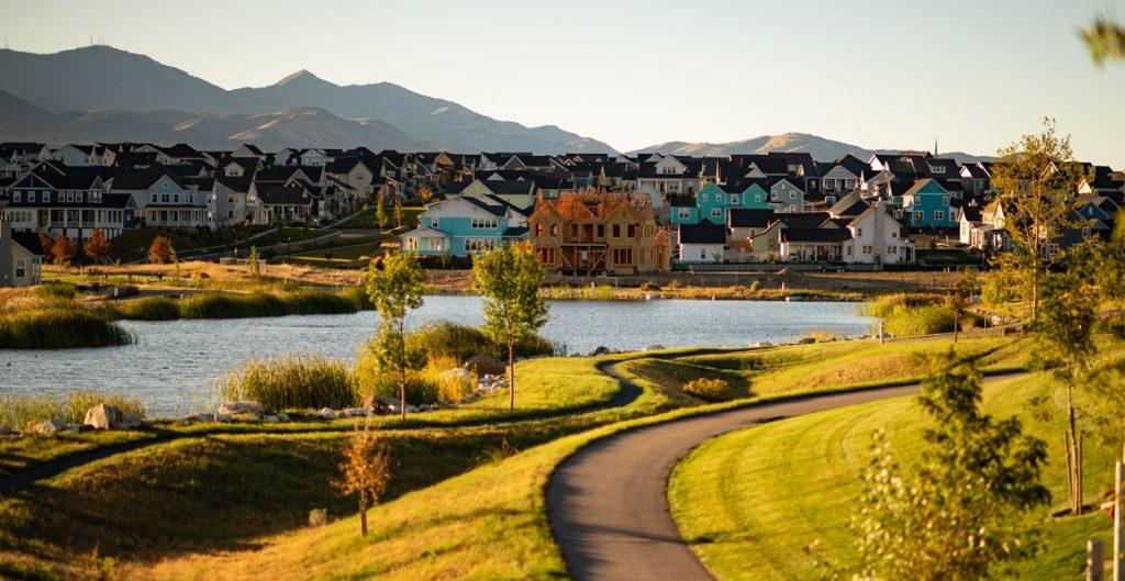 daybreak amenities, oquirrh lake | daybreak utah homes