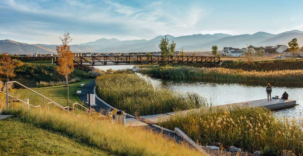 Oquirrh Lake, Daybreak amenities   Daybreak Utah