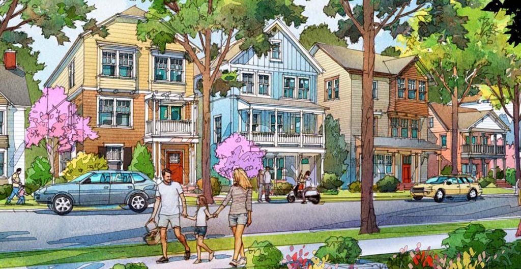 daybreak's builders, destination homes, hartford series rendering, new home choices, daybreak   daybreak utah homes