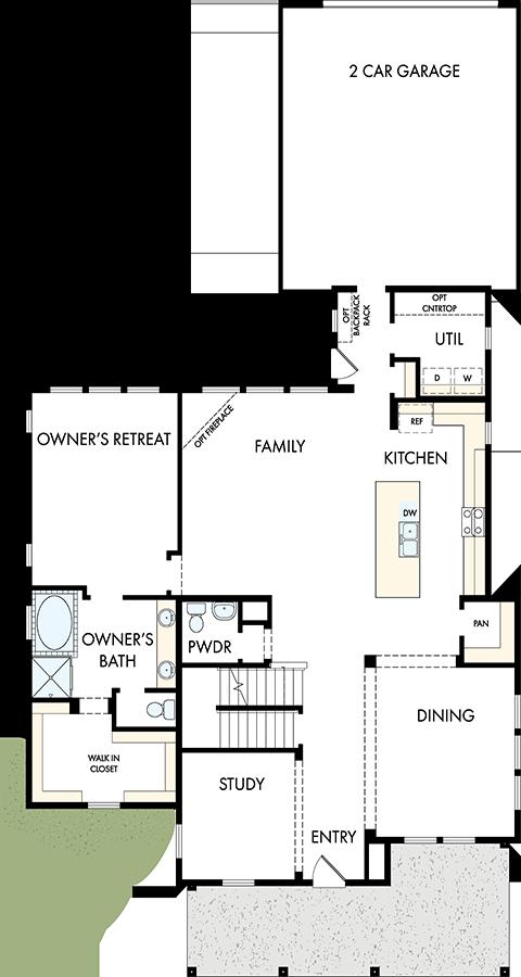 David Weekley Homes  Main Level   Daybreak Utah