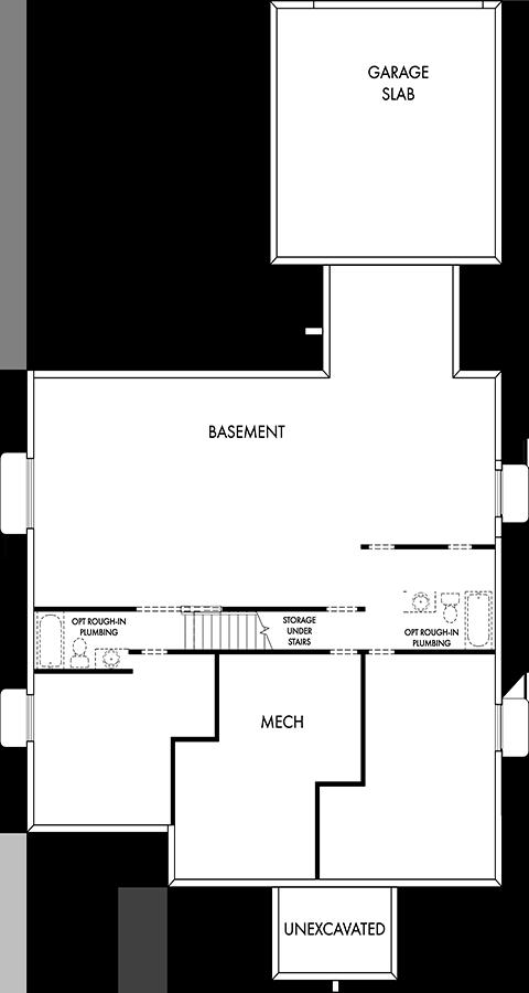 David Weekley Homes  Basement | Daybreak Utah