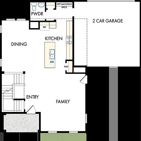 David Weekley Homes The Eastlake Main Level | Daybreak Utah