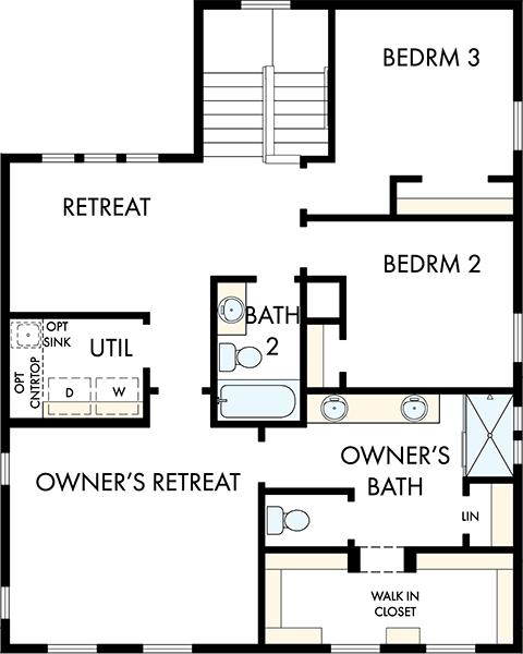 David Weekley Homes The Firmont Second Level | Daybreak Utah