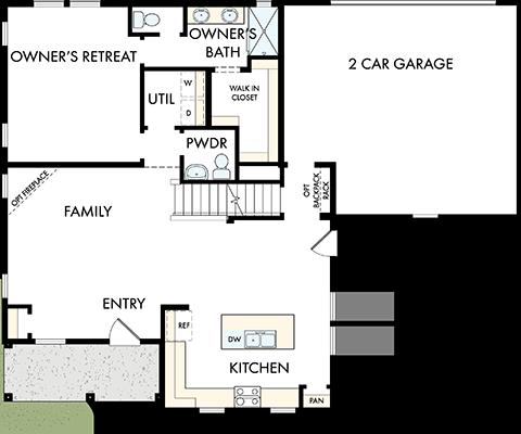 David Weekley Homes The Peninsula Main Level | Daybreak Utah