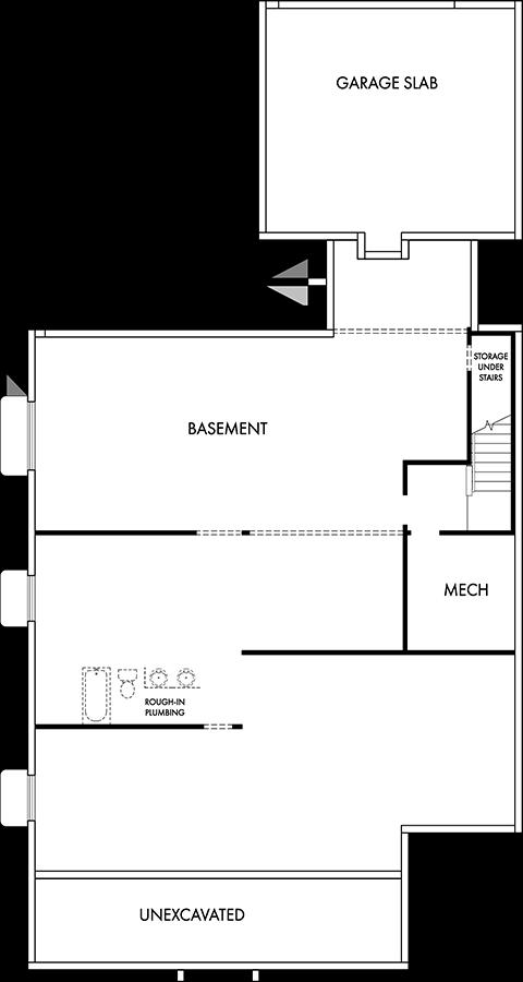 David Weekley Homes  Basement   Daybreak Utah