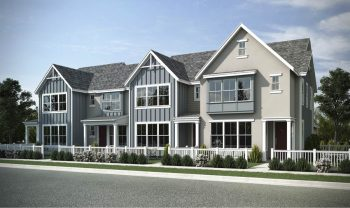 Windermere Collection by Holmes Homes | Townhomes for Sale in Daybreak Utah