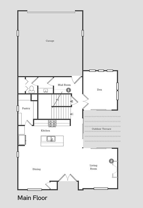Sego Homes  Main Level | Daybreak Utah