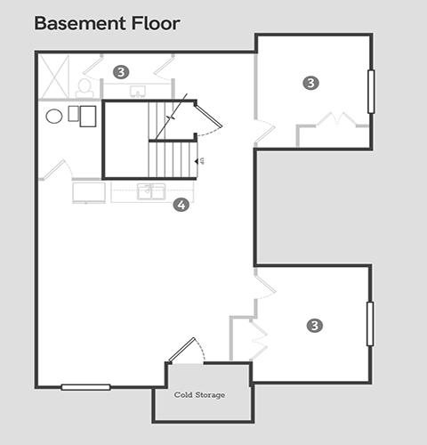 Sego Homes  Basement | Daybreak Utah