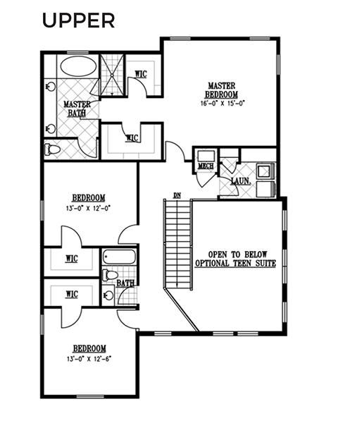 Rainey Homes The Ellsworth Second Level | Daybreak Utah