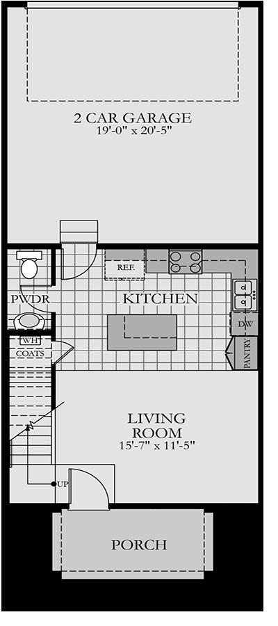 Holmes Homes  Main Level | Daybreak Utah