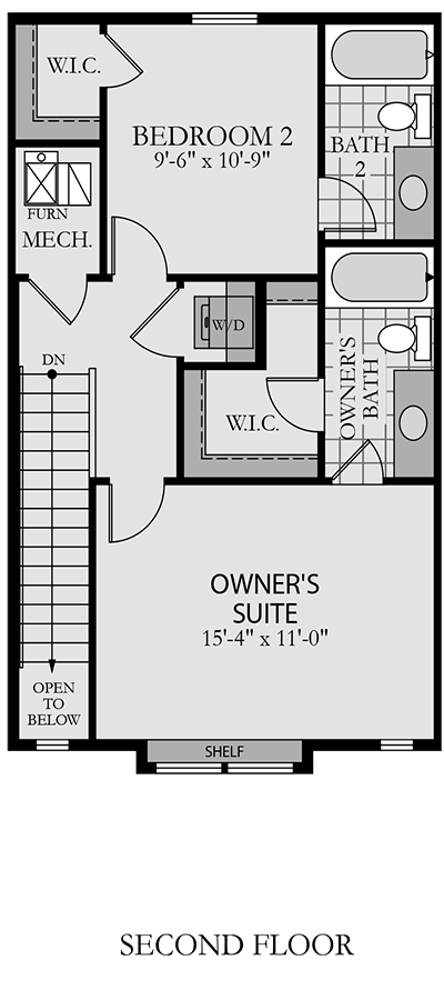 Holmes Homes  Second Level | Daybreak Utah