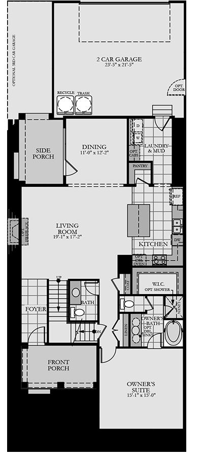Holmes Homes Mystic Main Level | Daybreak Utah