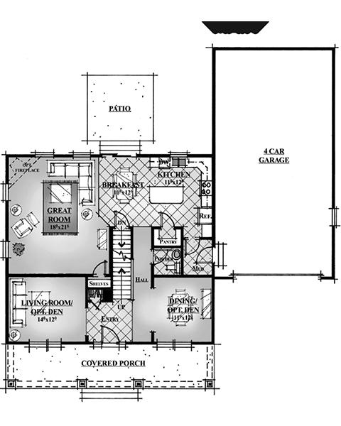 Rainey Homes The Bellevue Main Level | Daybreak Utah