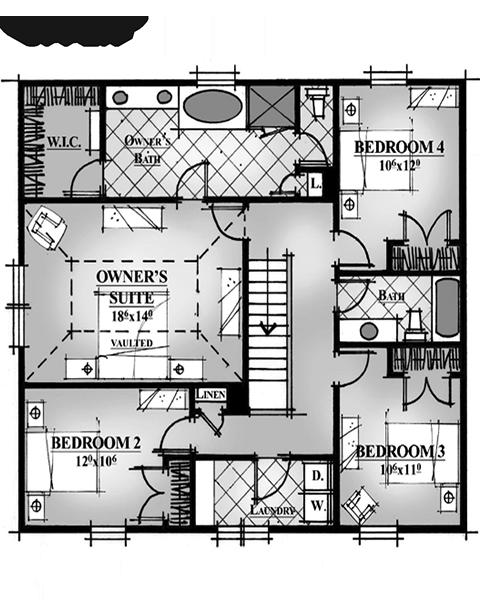 Rainey Homes The Bellevue Second Level | Daybreak Utah