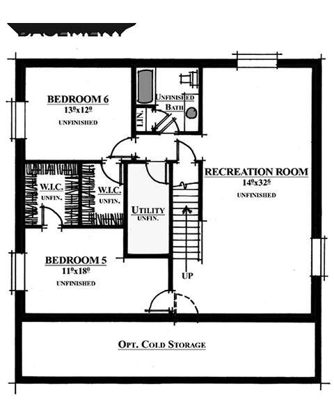 Rainey Homes The Bellevue Basement | Daybreak Utah