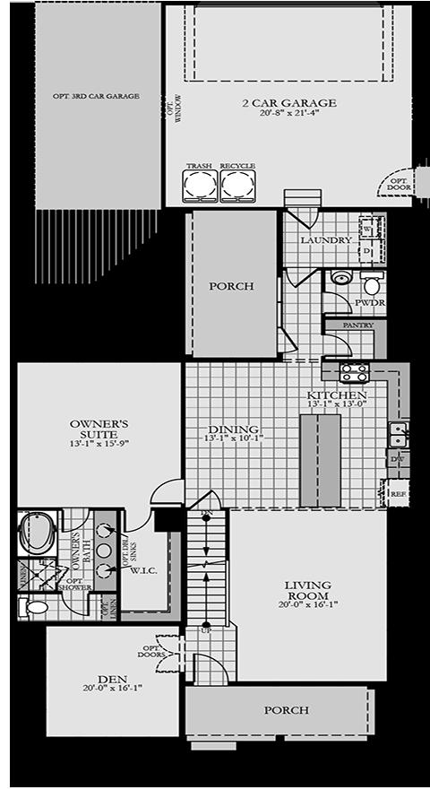 Holmes Homes Huntington Main Level | Daybreak Utah