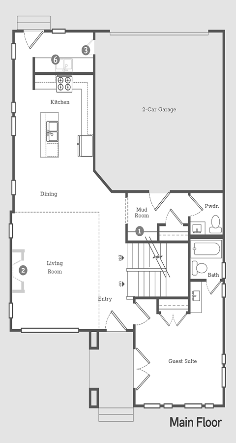 Sego Homes Entrepreneur Main Level | Daybreak Utah