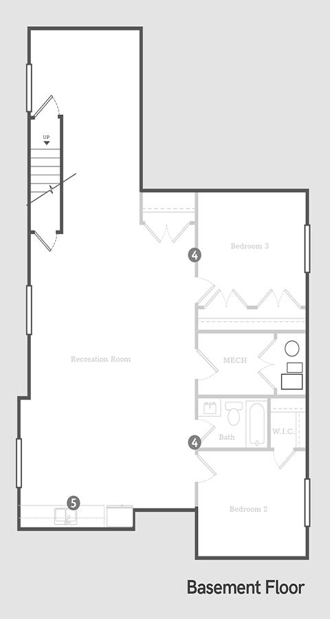 Sego Homes Founder Basement | Daybreak Utah