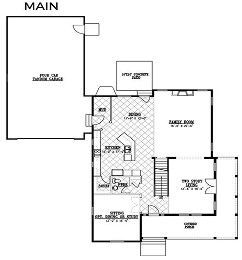 Rainey Homes The Ellsworth Main Level | Daybreak Utah