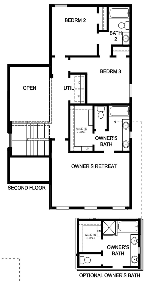 David Weekley Homes  Second Level | Daybreak Utah