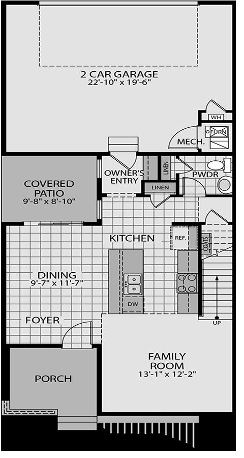 Holmes Homes Broadway Main Level | Daybreak Utah