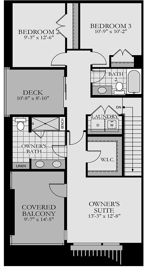 Holmes Homes Broadway Second Level | Daybreak Utah