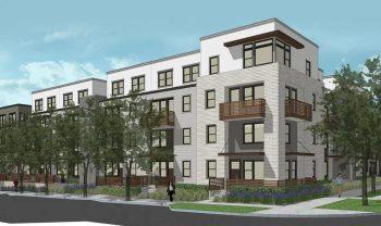 tempo condominium floor plan 1 | Daybreak Utah New Homes