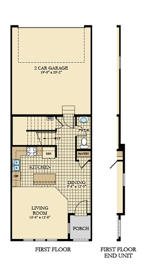 Holmes Homes Copenhill Main Level | Daybreak Utah