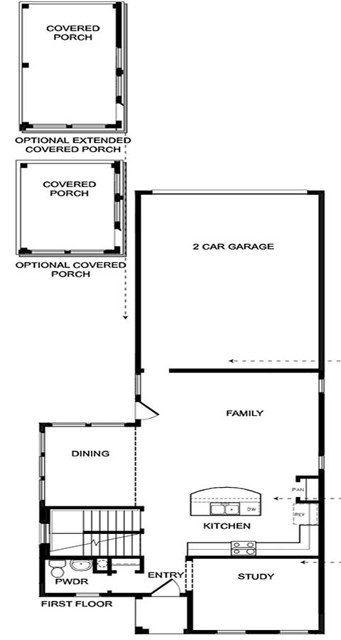 David Weekley Homes  Main Level | Daybreak Utah