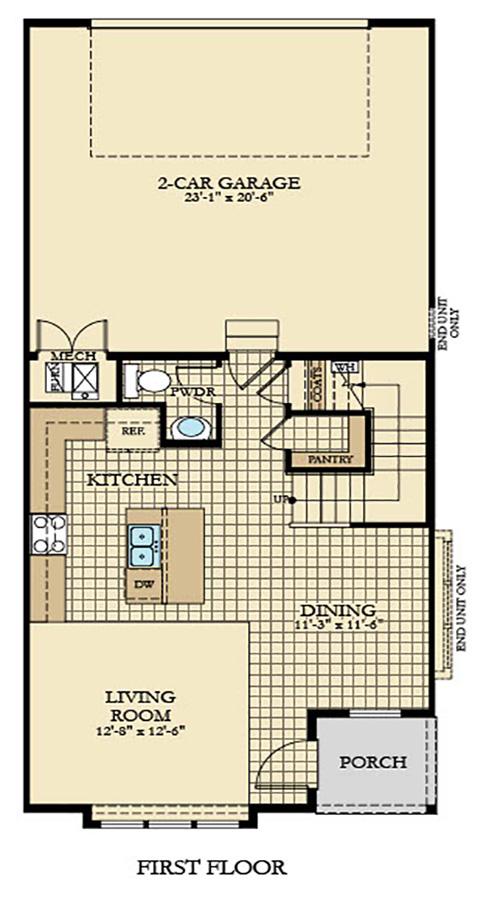 Holmes Homes Juliette Main Level | Daybreak Utah