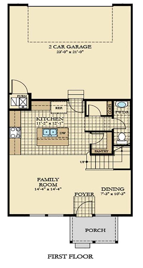 Holmes Homes Augusta Main Level | Daybreak Utah