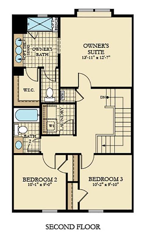 Holmes Homes Augusta Second Level | Daybreak Utah