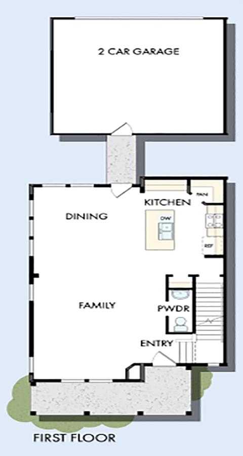 David Weekley Homes The Arrowleaf Main Level | Daybreak Utah