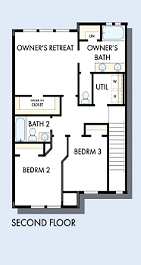 David Weekley Homes The Arrowleaf Second Level | Daybreak Utah