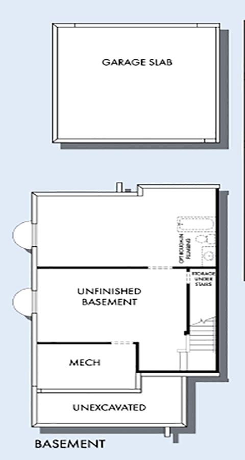 David Weekley Homes The Arrowleaf Basement | Daybreak Utah